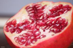 Cut Pomegranate Fruit-other