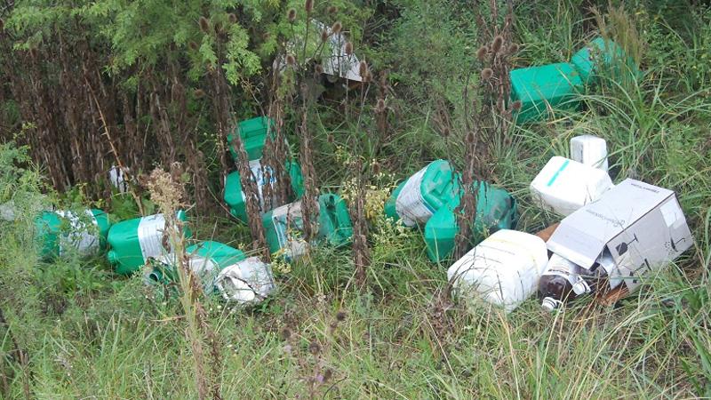 ¿Que hacer con los envases de fitosanitarios?